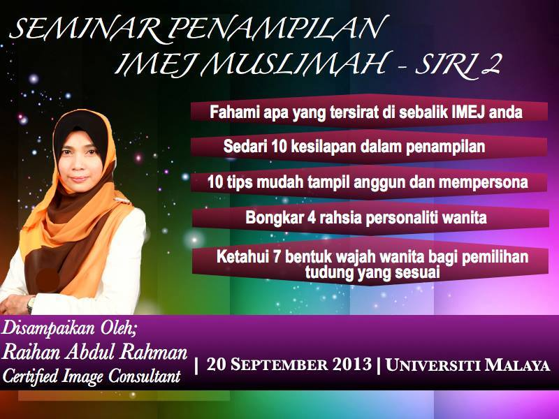 Seminar Imej Muslimah