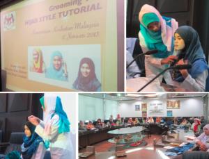Hijab Style Tutorial | Kementerian Kesihatan Malaysia | 17 January 2013 [ Read More ]