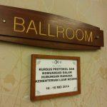 Kursus Protokol & Komunikasi Dalam Hubungan Manusia |Kementerian Luar Negeri Malaysia | 16-18 Mei 2014