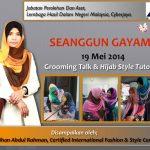Grooming Talk | 19 Mei 2014 | LHDN Cyberjaya