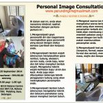 Small group personal image consultation for women | 25 September 2014