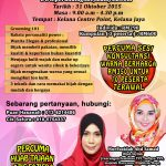 Personal Power Image Transformation Workshop – Kini dibuka untuk umum !