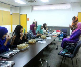 Kursus Transformasi Imej Profesional & Pengurusan Majlis | IDB | 11-13 Oktober 2016