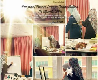 Sesi Rundingan Imej Personal Perunding Imej Muslimah