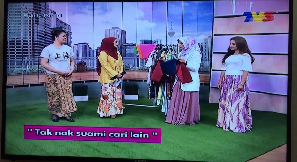 taknak suami cari lain rancangan wanita hari ini TV3 bersama perunding imej malaysia