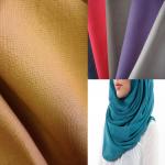 Mengenali Empat <b>Jenis Fabrik Hijab</b> : Kelebihan dan Kekurangan