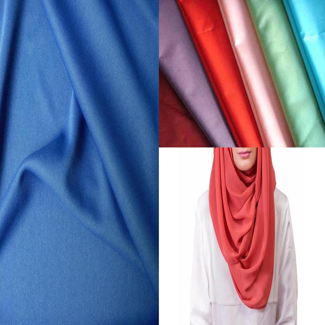 Mengenali Empat Jenis Fabrik Hijab