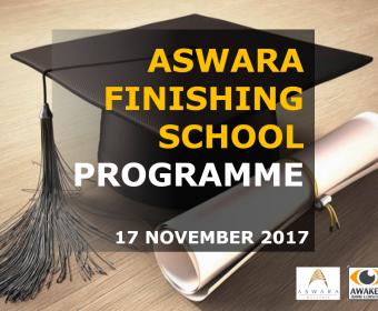 Finishing School Programme | Aswara | 17 November 2017