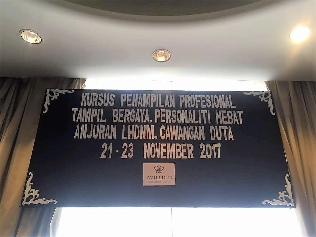 Kursus Penampilan Profesional,Tampil Bergaya & Personaliti Hebat
