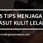 <b>5 Tips Menjaga Kasut Kulit Lelaki</b>