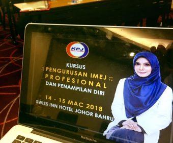 Kursus Pengurusan Imej Profesional Dan Penampilan Diri | KPJ Johor | 14-15 Mac 2018
