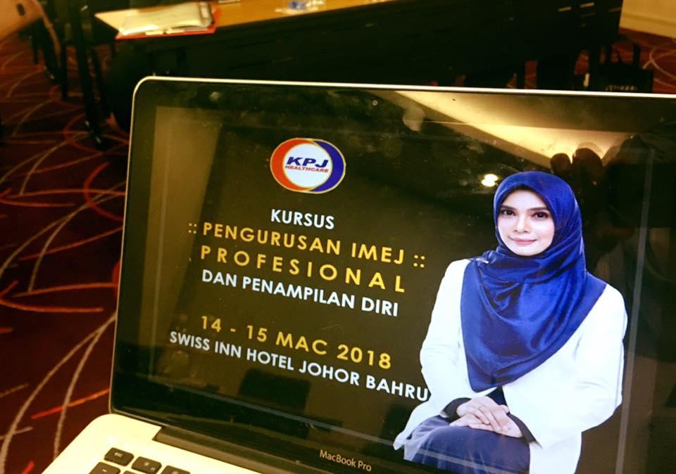 Kursus Pengurusan Imej Profesional Dan Penampilan Diri Hospital Pakar KPJ Johor