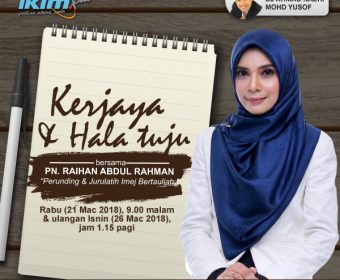 Kerjaya Dan Hala Tuju Perunding Imej Di Malaysia</b> | Temubual Radio IKIMfm | Siri 1