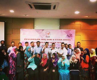 Kursus Keterampilan Diri Dan Etiket Sosial | Felda Wilayah Alor Setar | 25 Julai 2018