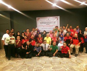 Bengkel Pengurusan Majlis, Etiket Sosial dan Penampilan Diri | Warga Pertubuhan Orang Cacat Penglihatan Malaysia | 28-30 September 2018