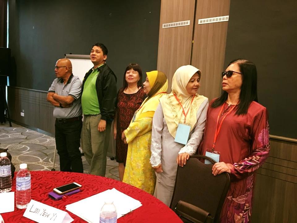 Bengkel Pengurusan Majlis Pertubuhan Orang Cacat Penglihatan Malaysia
