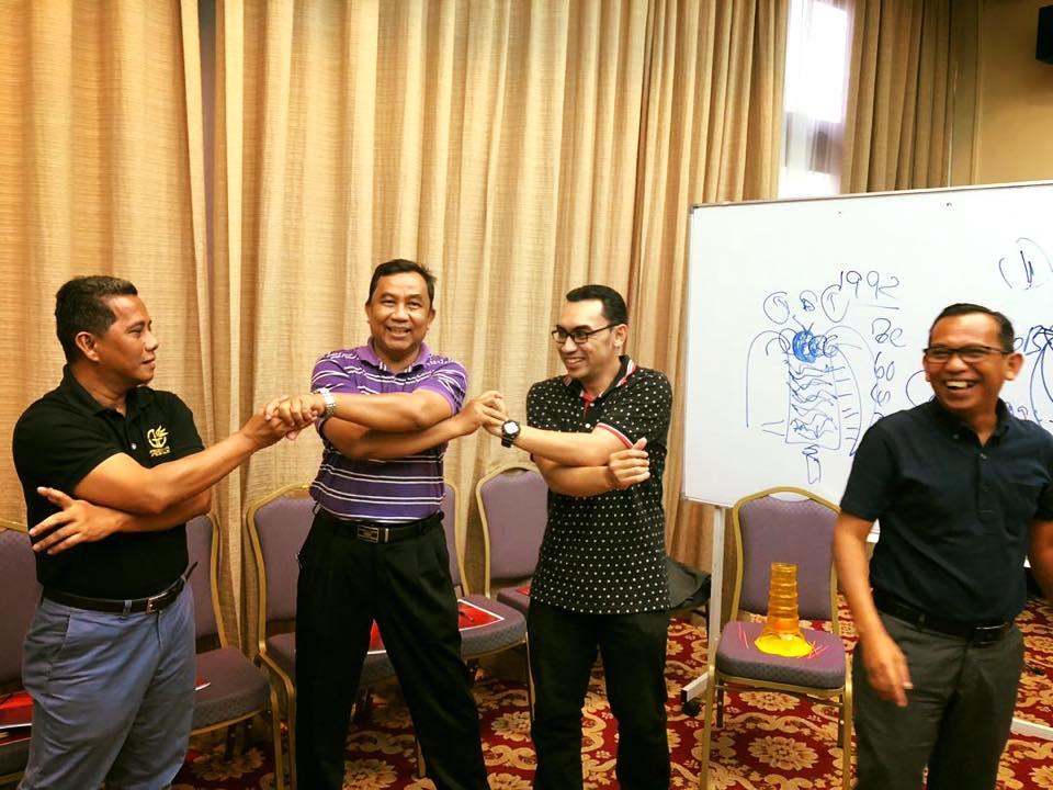 Kursus Pemantapan Team Building