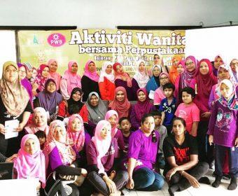 Seminar Anggun Dan Bijak | Aktiviti Wanita Bersama Perpustakaan PWB Dusun Tua | 10 November 2018