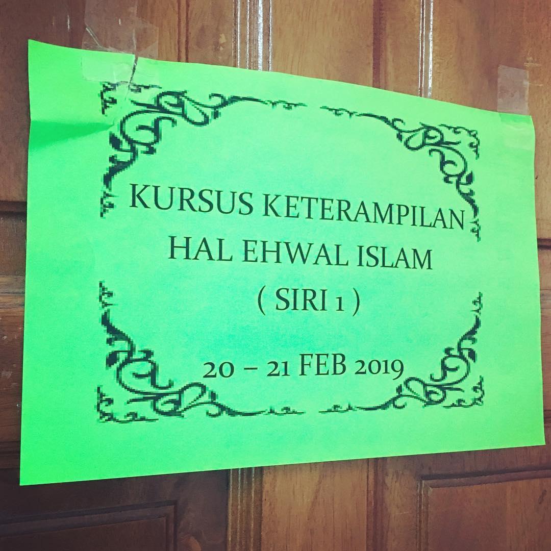 Kursus Keterampilan Hal Ehwal Islam