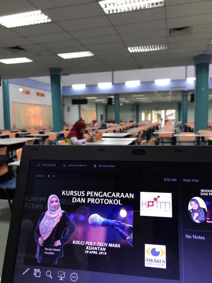 Kursus Pengacaraan Majlis Dan Protokol