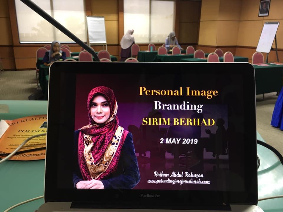 Kursus Personal Image Branding