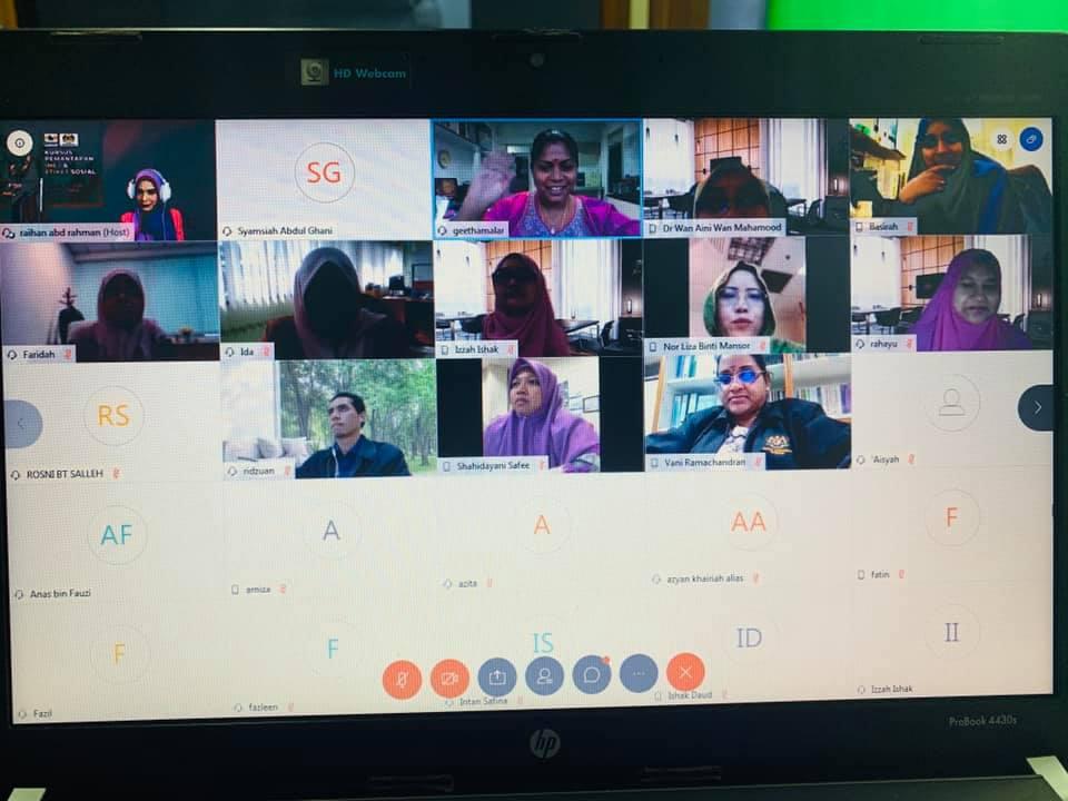 Kursus Pemantapan Imej Online Virtual Learning
