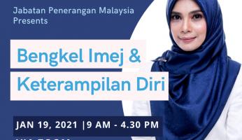 Bengkel Online Imej Keterampilan Diri Jabatan Penerangan Malaysia