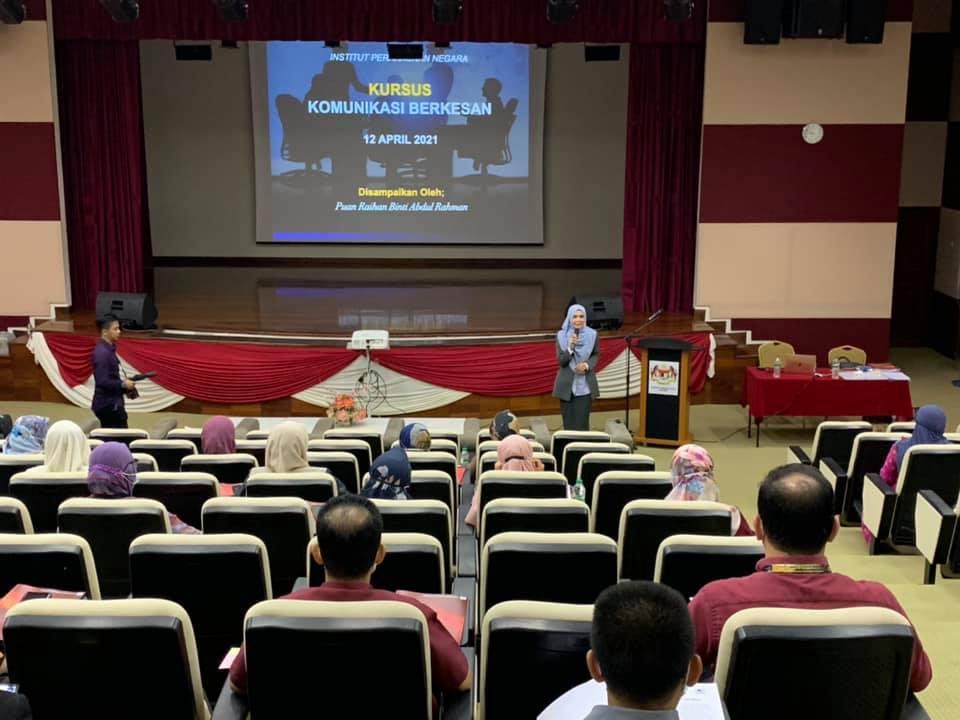 Kursus Komunikasi Berkesan Institut Perakaunan Negara