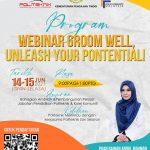 <b>Webinar Groom Well, Unleash Your Potential,</b> Politeknik Merlimau Melaka Pada 14 dan 15 Jun 2021