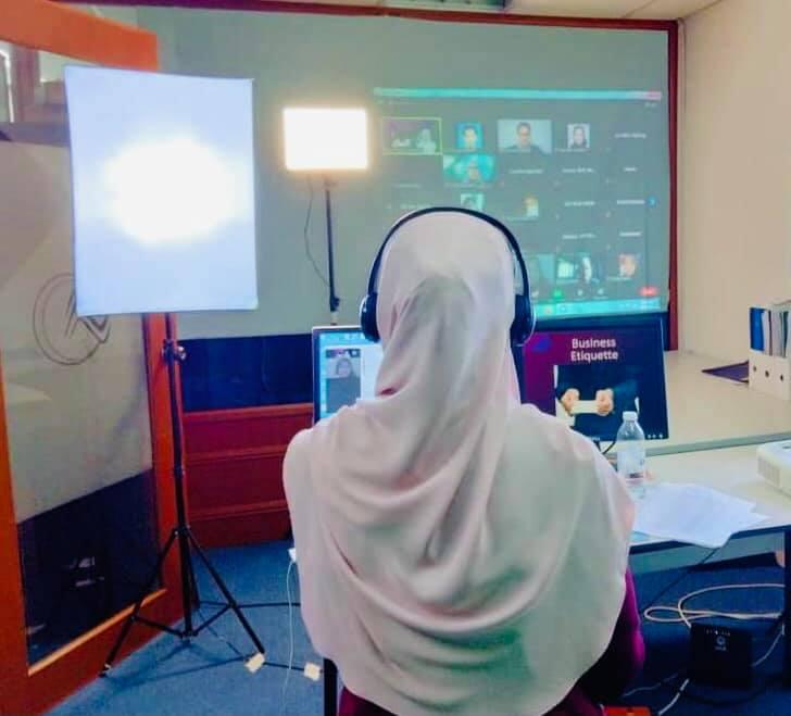 Webinar Etika Kerja Dan Komunikasi Kolej Vokasional Sultan Abdul Samad Pada 18 Jun 2021