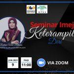<b>Webinar Imej dan Keterampilan Diri</b> Lembaga Sawit Malaysia (MPOB) Pada 9 Jun 2021